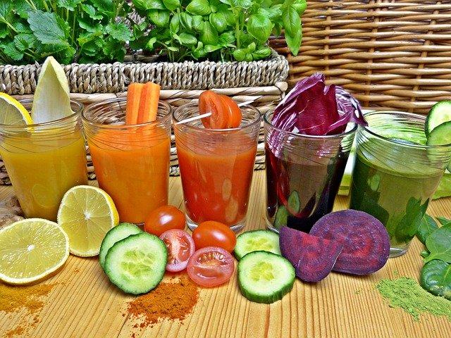 zeleninové i ovocné smoothie