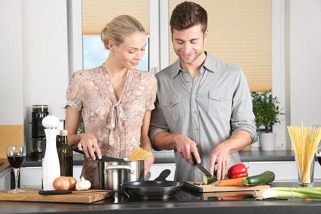 každodenní život v kuchyni