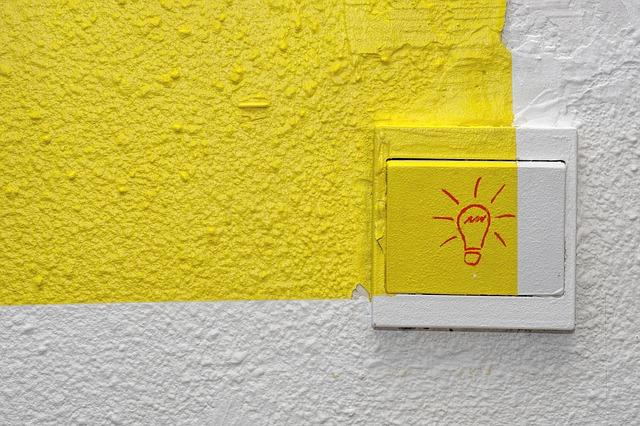 barevný vypínač