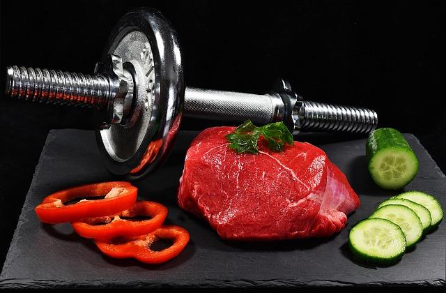 svaly z jídla