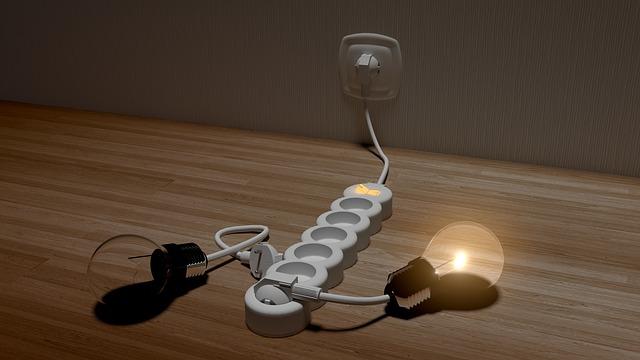 animace světla