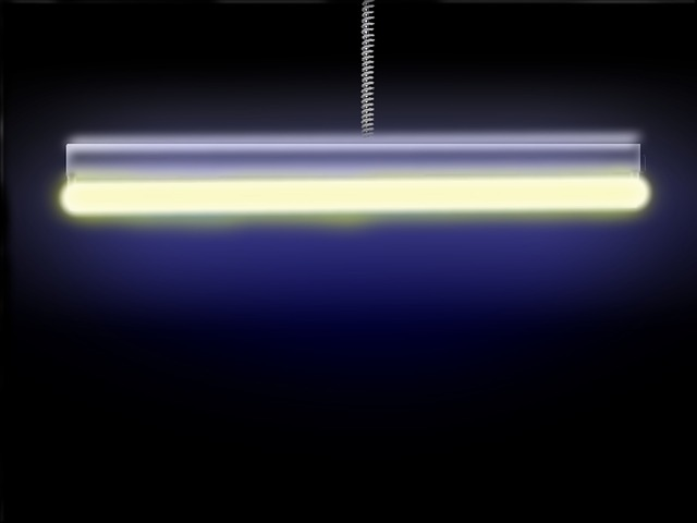 neonové světlo