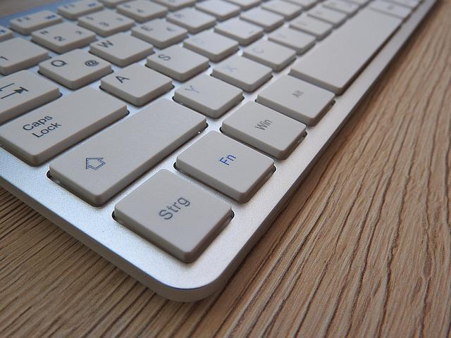 plochá klávesnice