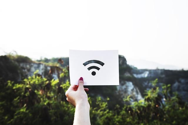 wifi v přírodě