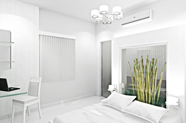 ložnice v bílém
